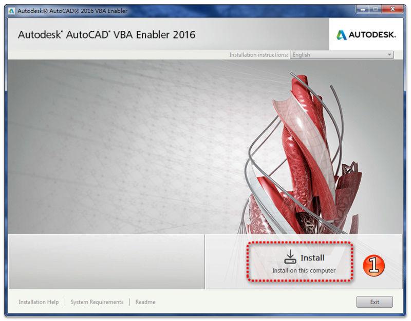 AutoCAD VBA 補安裝及使用 0211