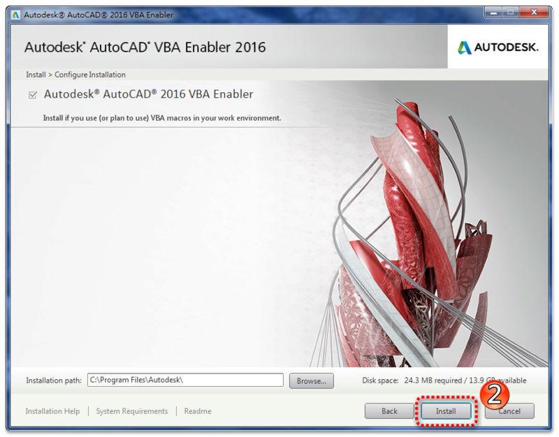AutoCAD VBA 補安裝及使用 0311