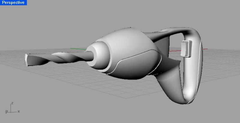 Rhino建模 + AutoCAD材質 0421