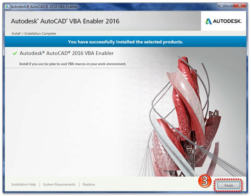 AutoCAD VBA 補安裝及使用 0510