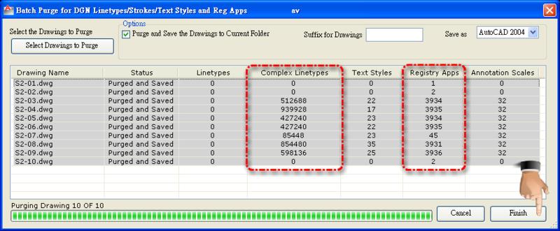 關於AutoCAD DWG檔案異常容量變大-II - 頁 2 0912