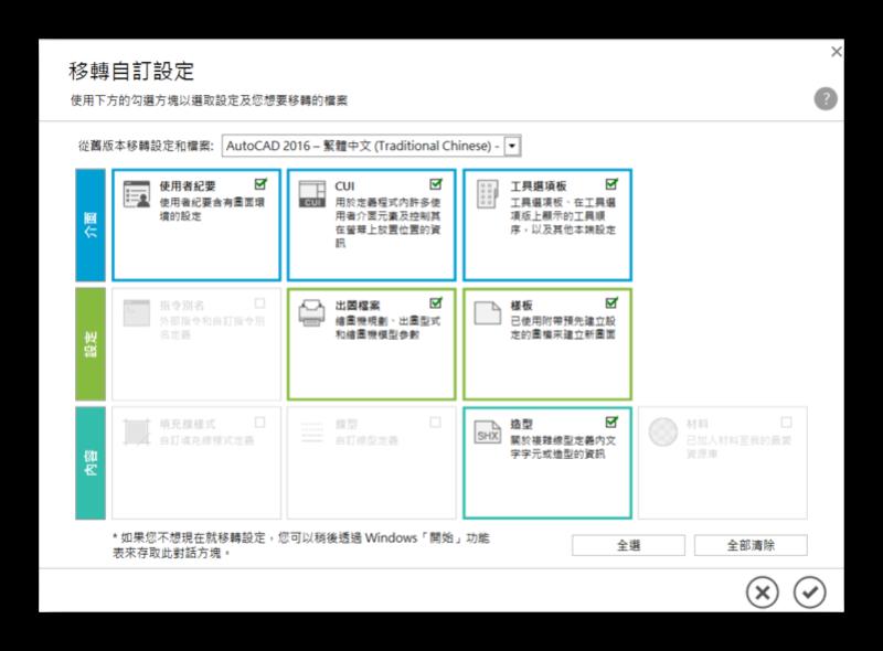 AutoCAD 2018 繁體中文版-安裝/啟用說明 0925