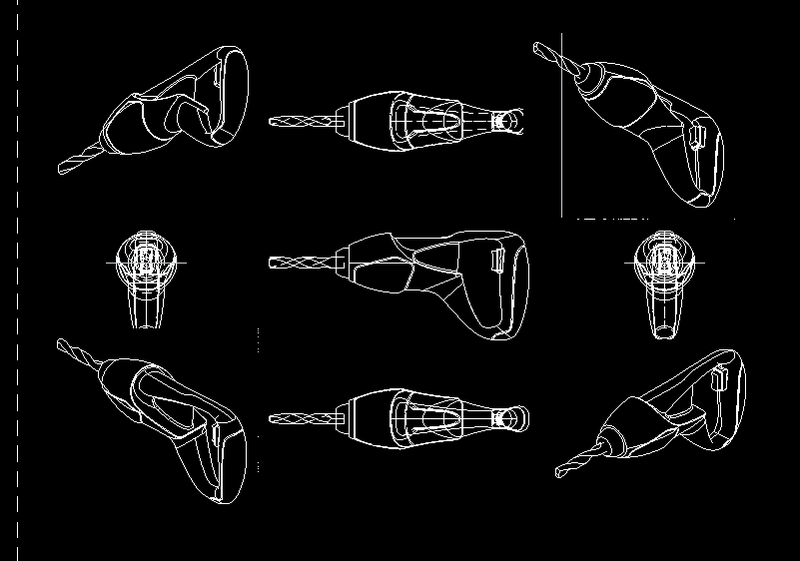 Rhino建模 + AutoCAD材質 2910