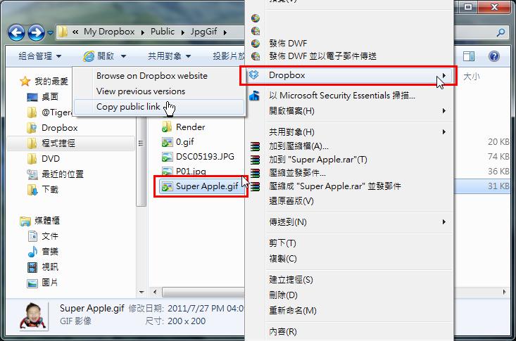 「教學」Dropbox運用:分享檔案(圖片)資料下載網址(三) - 頁 2 Dropbo37