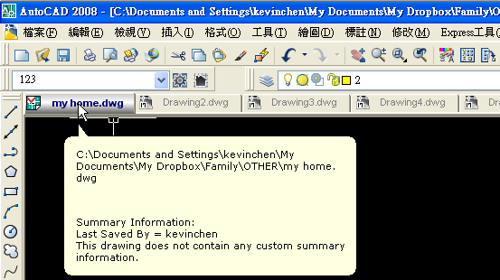 「分享」讓CAD也有「分頁」功能 - 二 Idwgta22