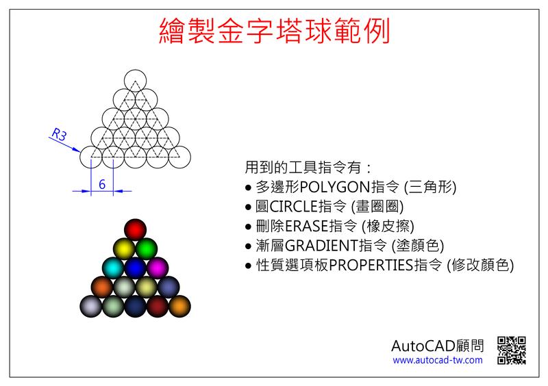 [新手入門]AutoCAD體驗課程範例-兒童版 Oaa2_u10