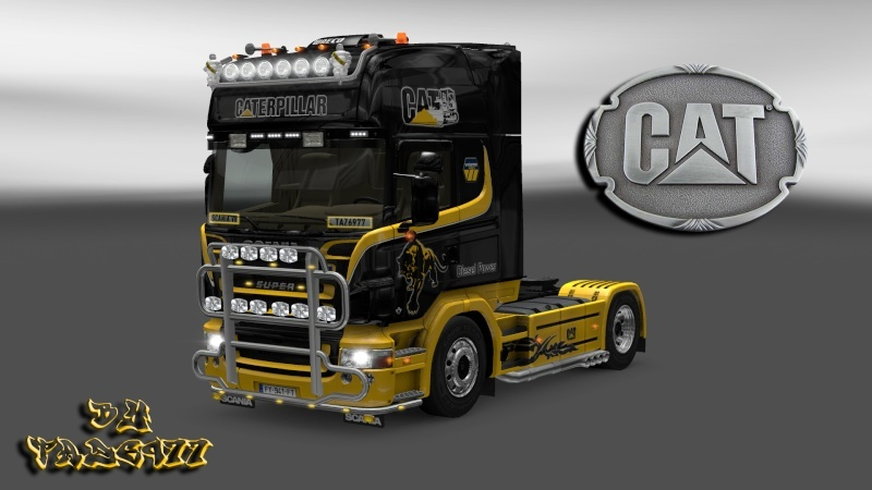 SKIN : Pack Wiame Edition CATERPILLAR Ets2_028