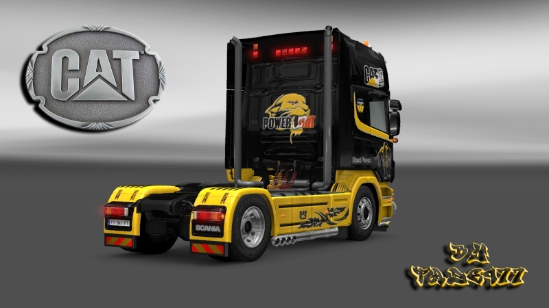 SKIN : Pack Wiame Edition CATERPILLAR Ets2_030