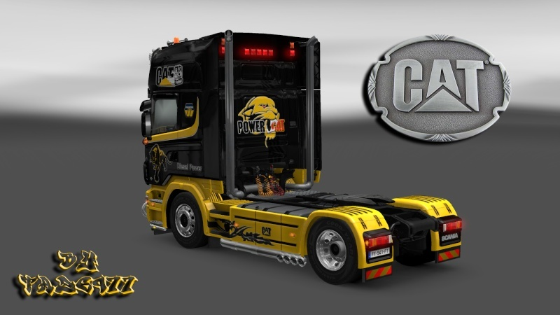 SKIN : Pack Wiame Edition CATERPILLAR Ets2_031