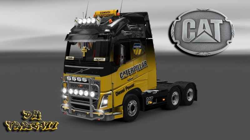 SKIN : Pack Wiame Edition CATERPILLAR Ets2_033