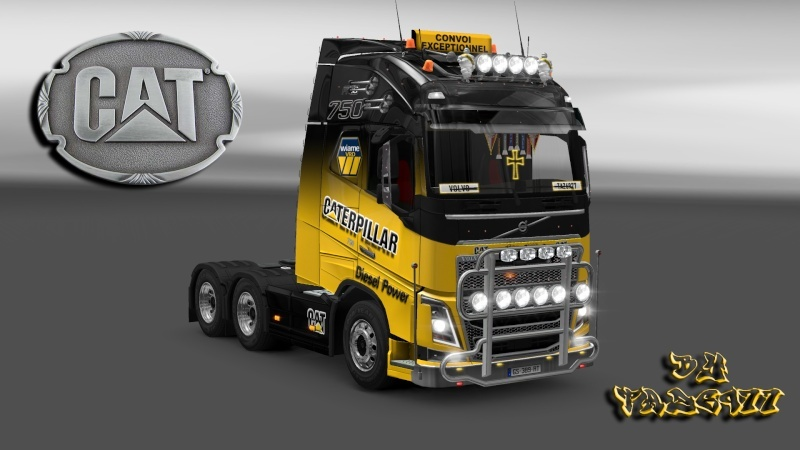SKIN : Pack Wiame Edition CATERPILLAR Ets2_034