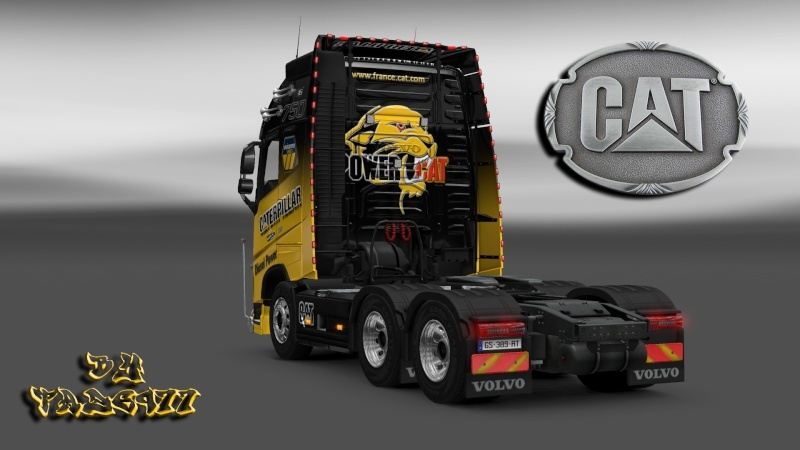 SKIN : Pack Wiame Edition CATERPILLAR Ets2_035