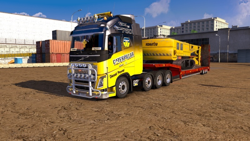 SKIN : Pack Wiame Edition CATERPILLAR Ets2_038