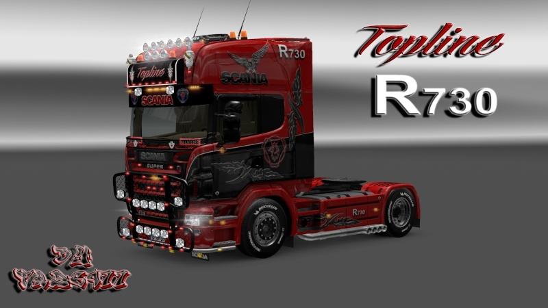 SKIN : Scania R2008 Edition Topline R730 Ets2_066