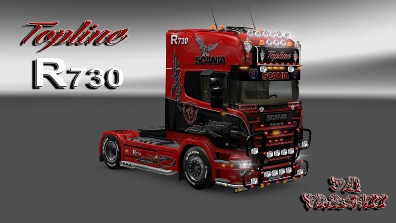 SKIN : Scania R2008 Edition Topline R730 Ets2_067
