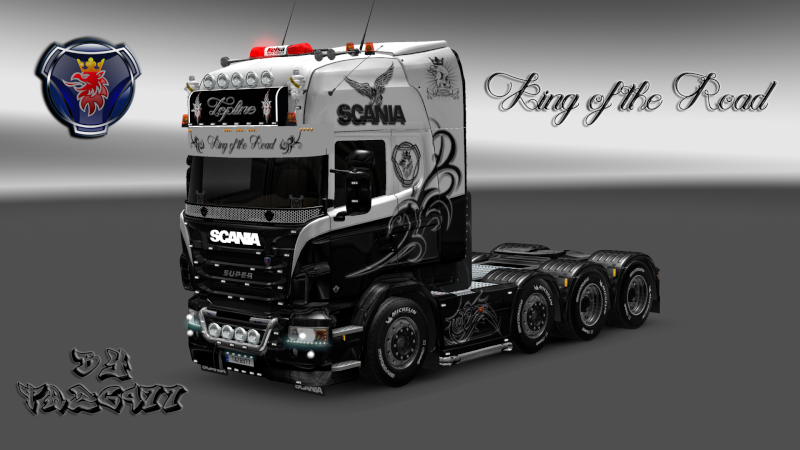 SKIN : Scania R King of the Road Ets2_084
