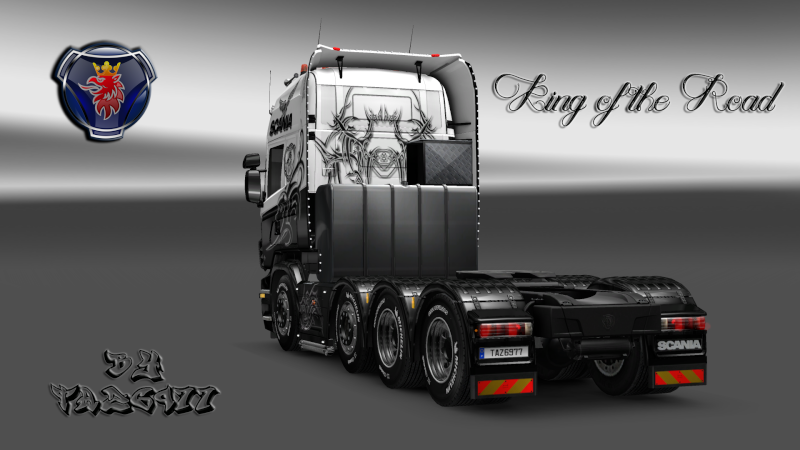 SKIN : Scania R King of the Road Ets2_085