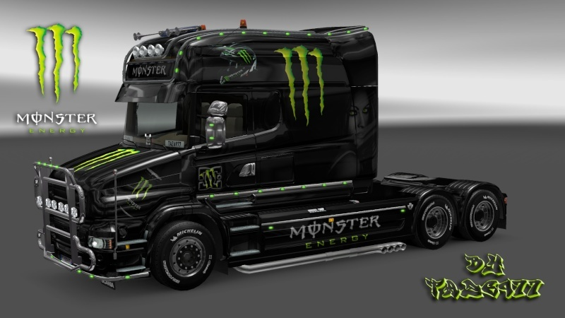 MOD : Pack Scania T Longline Edition Monster Ets2_194