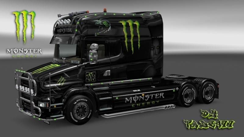 MOD : Pack Scania T Longline Edition Monster Ets2_194