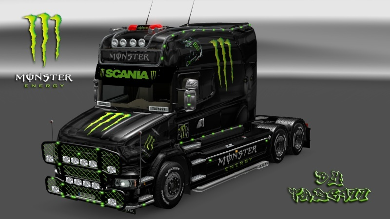 MOD : Pack Scania T Longline Edition Monster Ets2_195