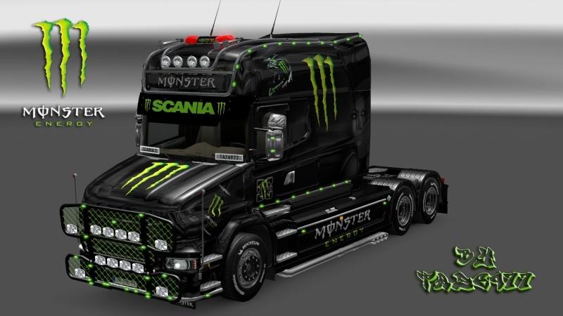 MOD : Pack Scania T Longline Edition Monster Ets2_195