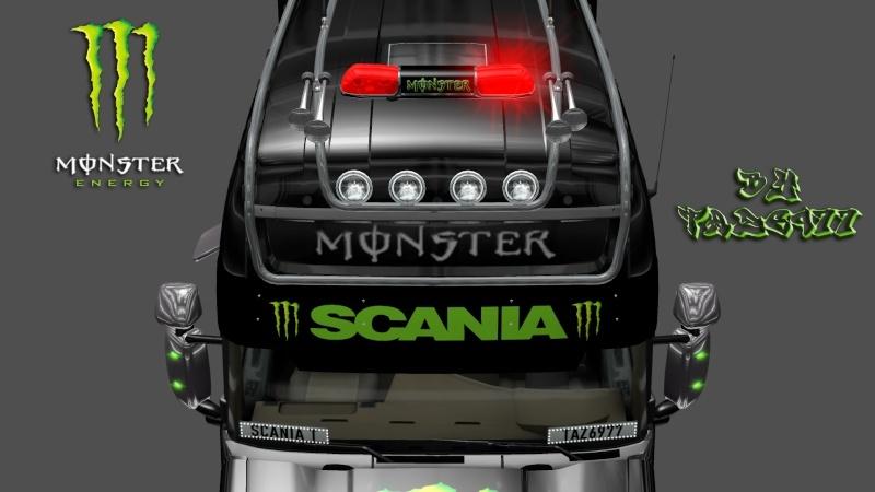 MOD : Pack Scania T Longline Edition Monster Ets2_196