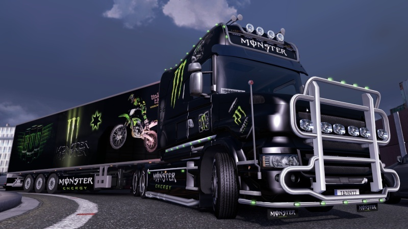 MOD : Pack Scania T Longline Edition Monster Ets2_199