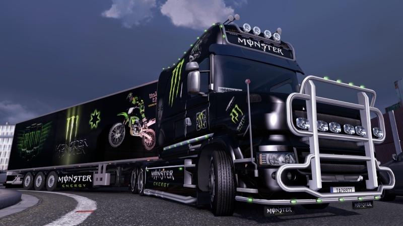 MOD : Pack Scania T Longline Edition Monster Ets2_199