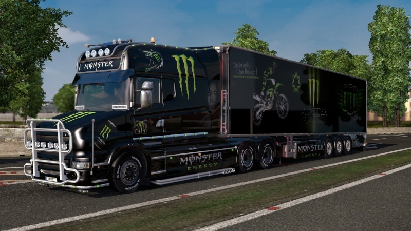 MOD : Pack Scania T Longline Edition Monster Ets2_201