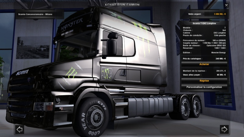 MOD : Pack Scania T Longline Edition Monster Ets2_203