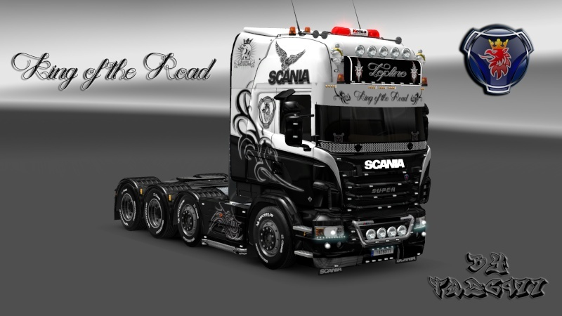 SKIN : Scania R King of the Road Ets2_215