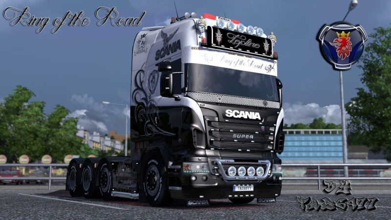 SKIN : Scania R King of the Road Ets2_216