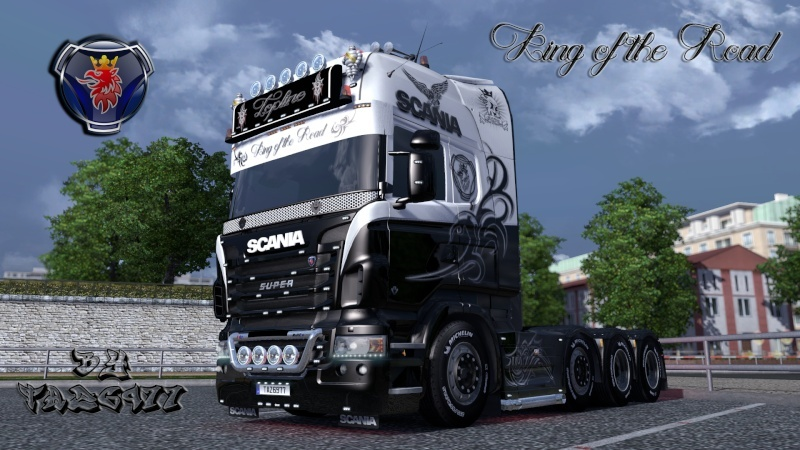 SKIN : Scania R King of the Road Ets2_218