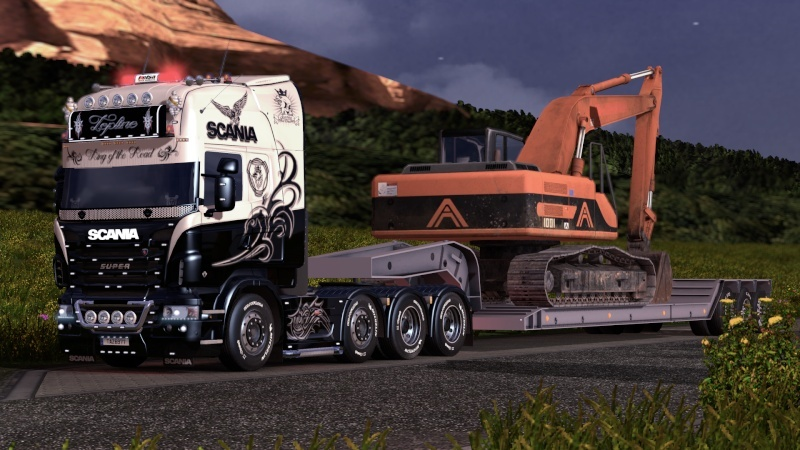 SKIN : Scania R King of the Road Ets2_220