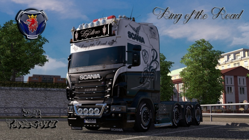 SKIN : Scania R King of the Road Ets2_221