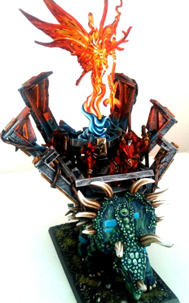 Machine des dieux, refonte d'un stegadon old school Forum211