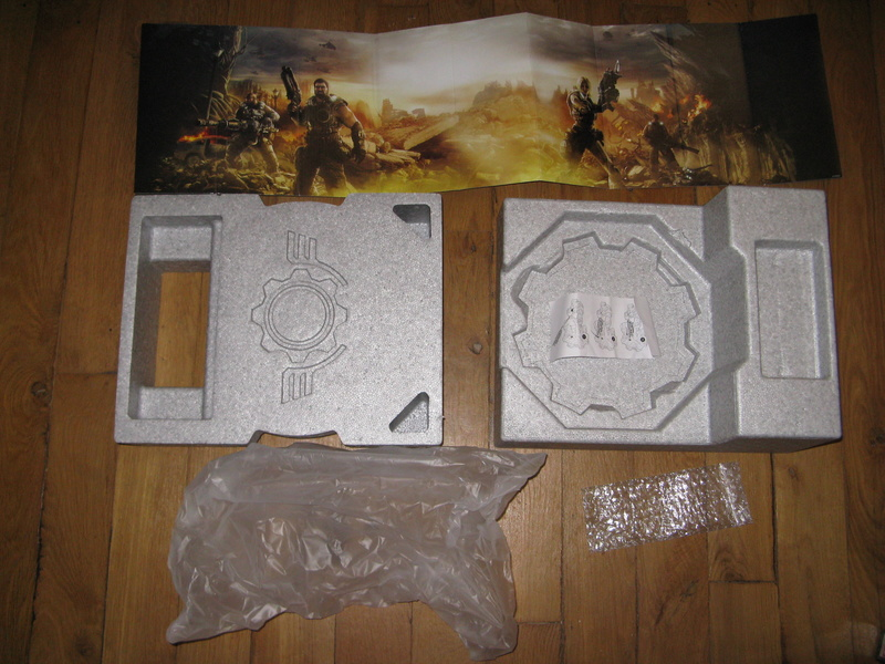 [VDS] Boite collector Gears of war 3 edition Epic Xbox 360 Img_3529
