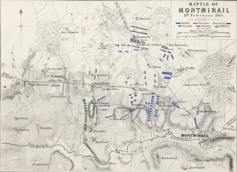 La Campagne de France - 1814 Batail10