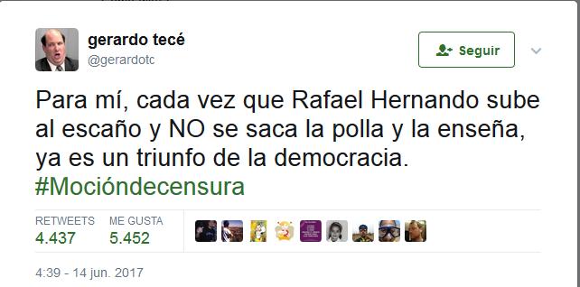 """Rafael Hernando (PP): """"Algunos se han acordado de su padre enterrado sólo cuando había subvenciones""""  - Página 2 Tece_210"""