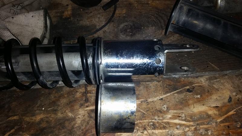 reconditionnement amortos et fourche origine avec pose de valves pression 20170217