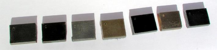 Réaliser un bronzage tabac sur une reproduction de Remington 1858. Echant11