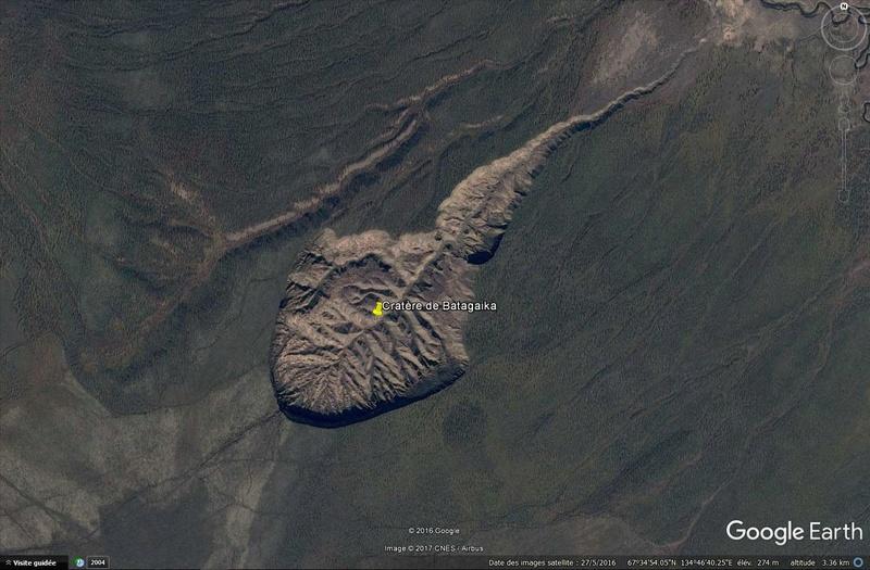 Cratère de Batagaika, Sibérie Bataga10