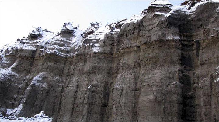 Cratère de Batagaika, Sibérie Bataga12