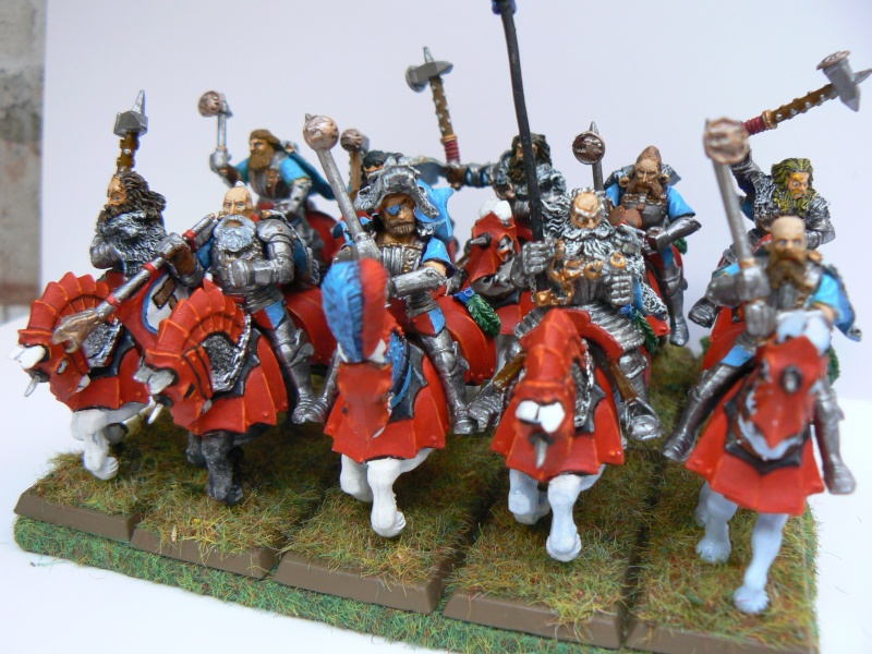 Mon Armée du Culte d'Ulric et du Middeinhem. Cheval15