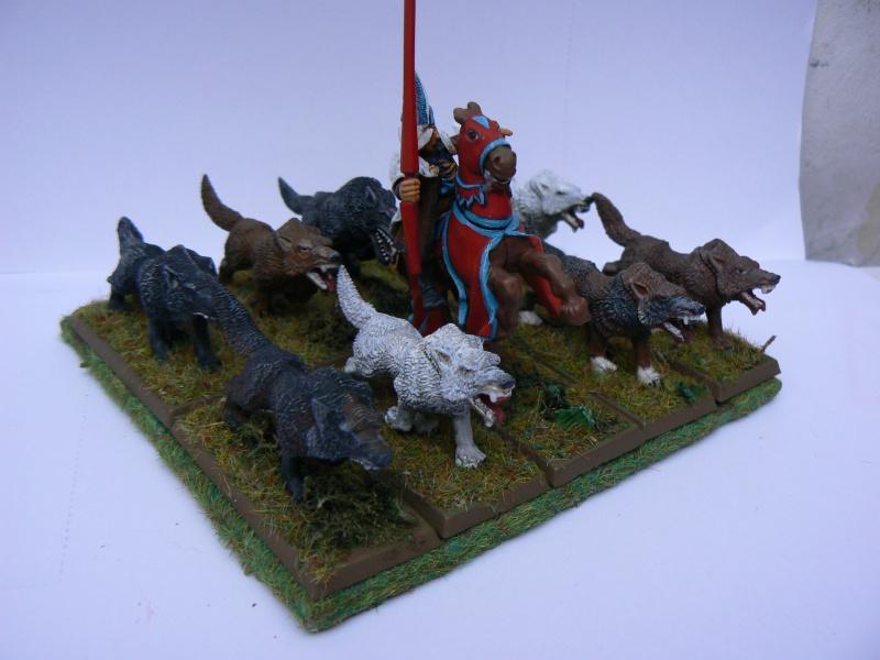 Mon Armée du Culte d'Ulric et du Middeinhem. Chiens10