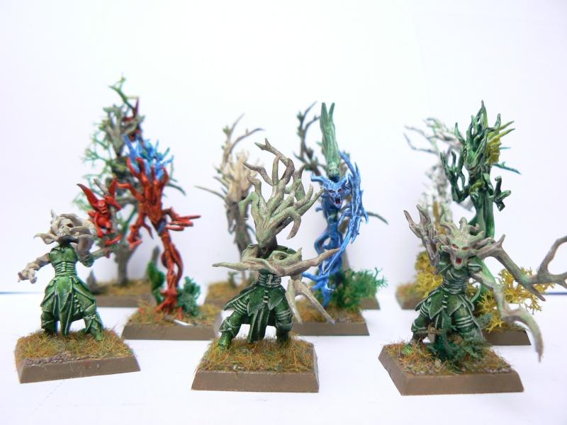 Mon Armée Elfes Sylvains Dryade12