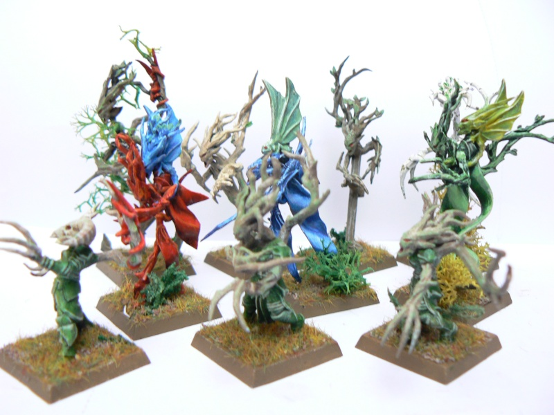 Mon Armée Elfes Sylvains Dryade13