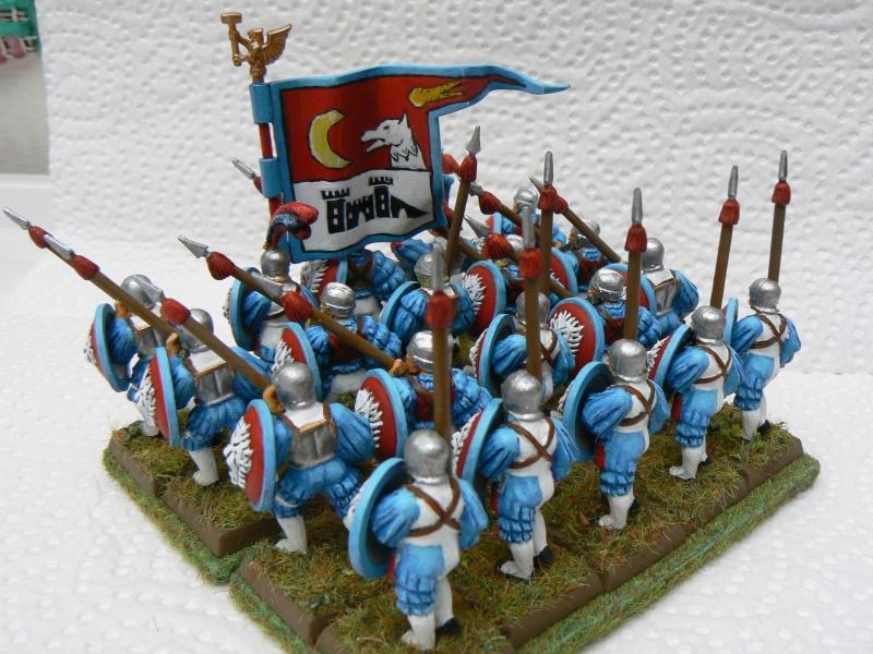 Mon Armée du Culte d'Ulric et du Middeinhem. Lancie16