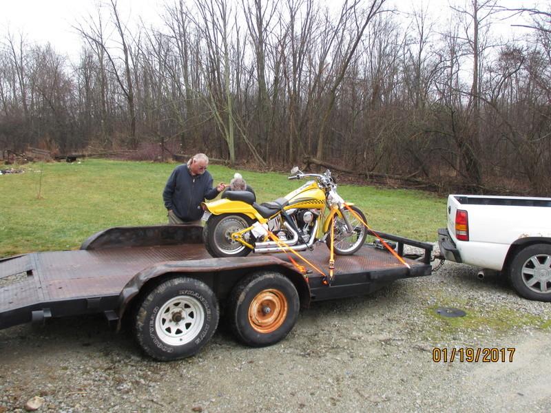 1993 Harley FXSTC 00111