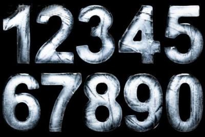 Simbolika e shifrave nga 1 në 9 Chiffr10